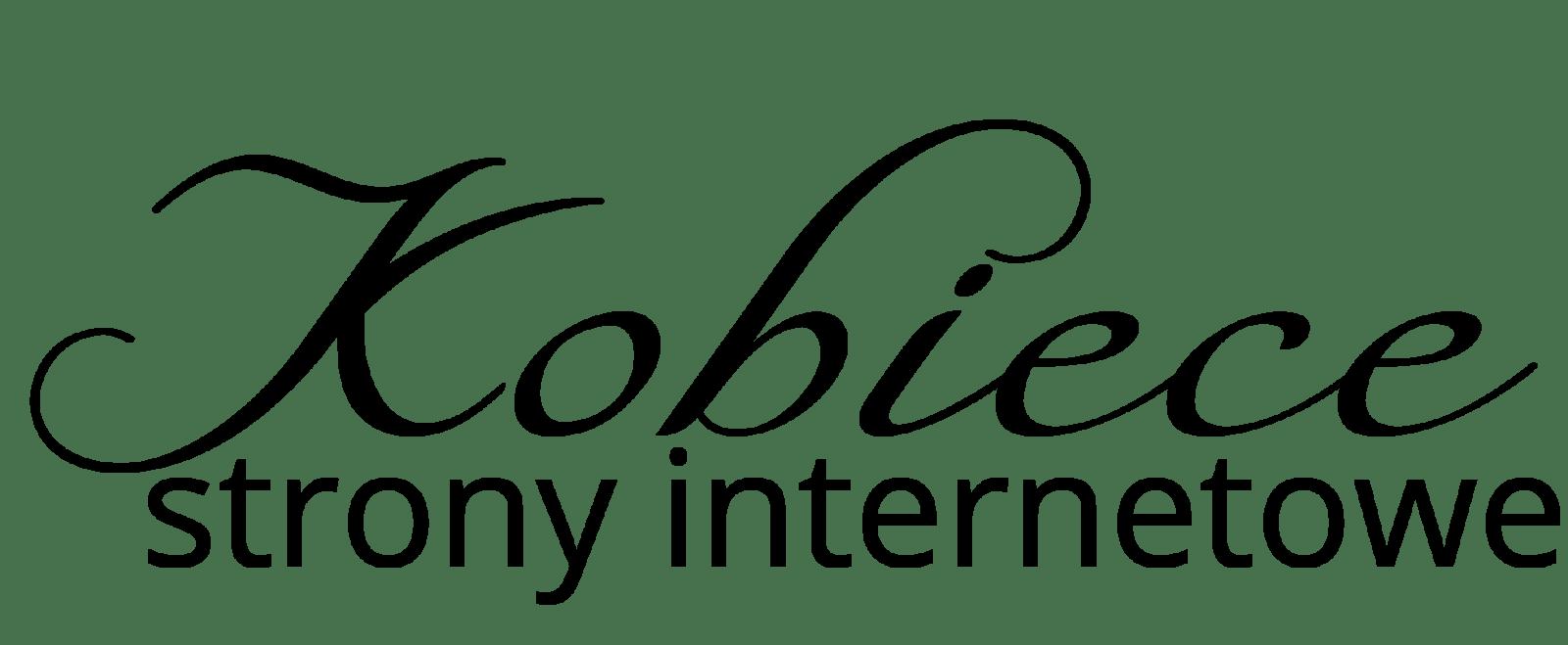 Kobieca strona internetowa