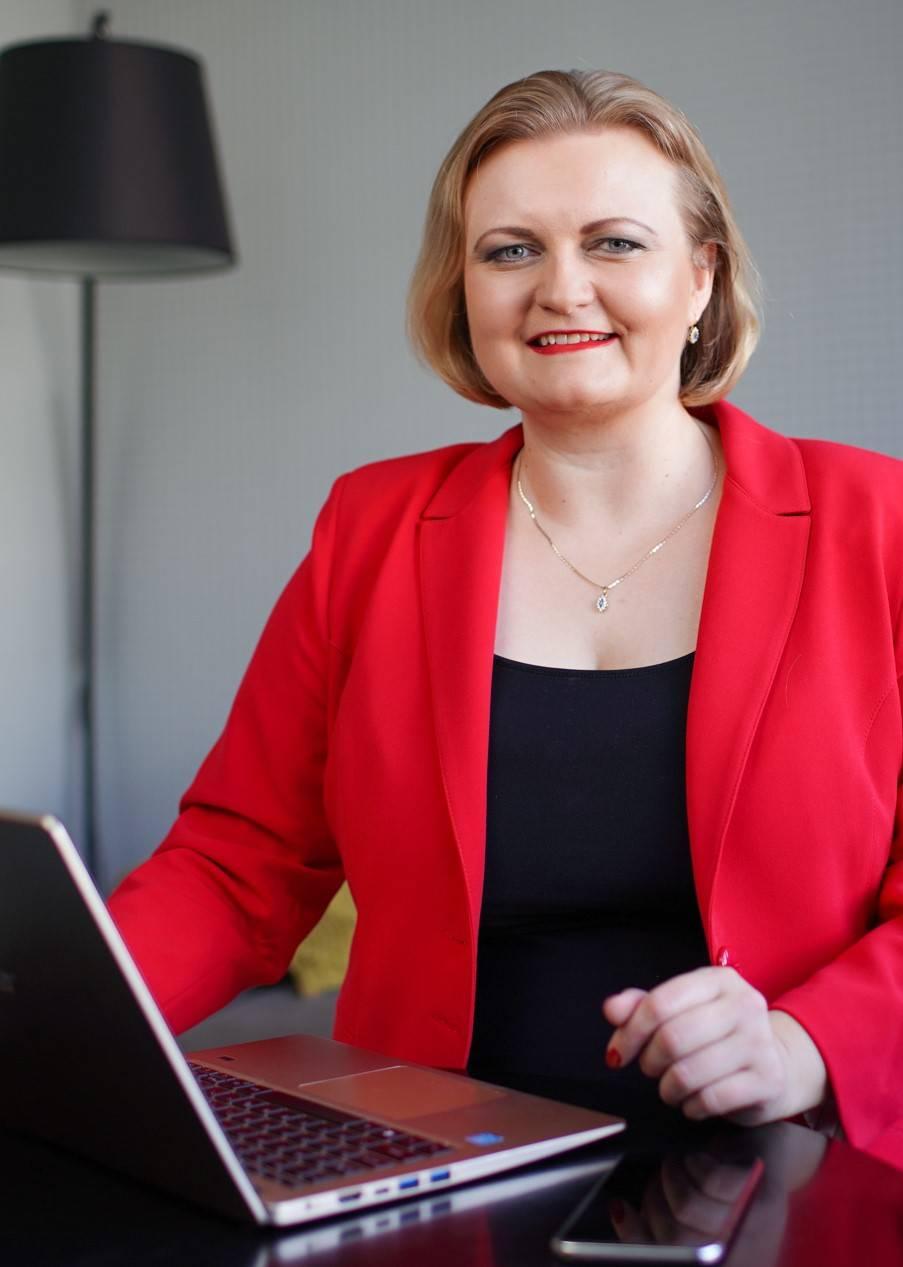 Justyna Kopeć marka osobista strony internetowe